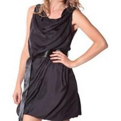 Textiel Dames Korte jurken Rich & Royal Rich&Royal Robe DITA Noire 13q680/890 Zwart
