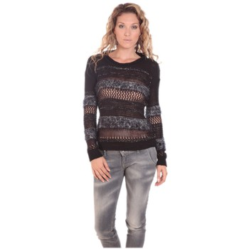 Textiel Dames Truien Rich & Royal Rich&Royal LUREX 13Q147 Noir Zwart