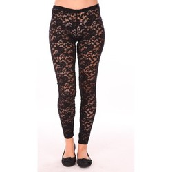 Textiel Dames Leggings Charlie Joe Legging Rich Zwart