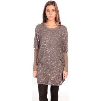 Textiel Dames Korte jurken Charlie Joe Robe Letizia Grijs