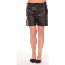 Textiel Dames Korte broeken / Bermuda's Charlie Joe Short Lake Zwart