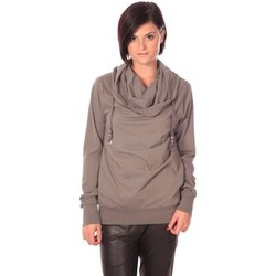 Textiel Dames Truien Rich & Royal Rich&Royal Sweat Look Taupe Bruin