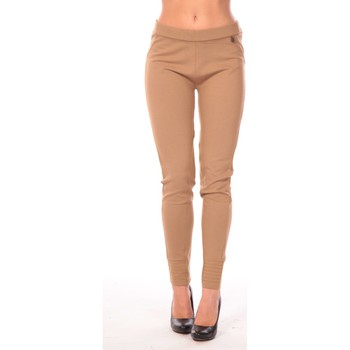 Textiel Dames Leggings Rich & Royal Rich&Royal Pantalon Leni Beige
