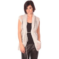 Textiel Dames Vesten / Cardigans Rich & Royal Rich&Royal Gilet Chine Wit