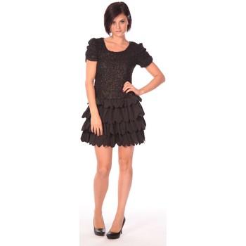 Textiel Dames Korte jurken Aggabarti Robe Dora 112009 Zwart