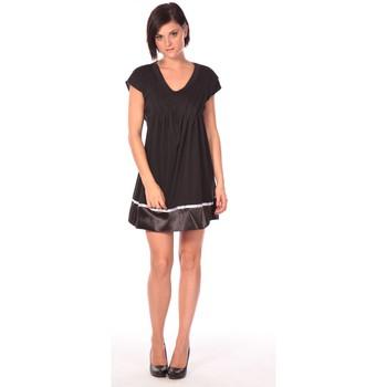 Textiel Dames Korte jurken Aggabarti Robe Nancy 112011 Zwart