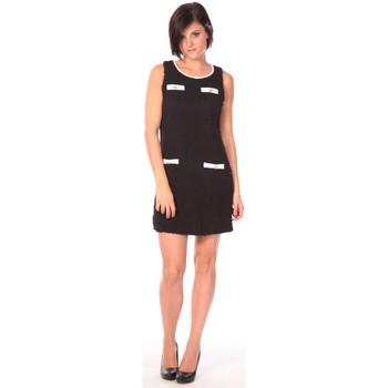 Textiel Dames Korte jurken Aggabarti Robe Lola 112014 Zwart