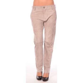 Textiel Dames 5 zakken broeken Charlie Joe Pantalon Clint Bruin