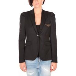 Textiel Dames Jasjes / Blazers Rich & Royal Rich&Royal Blazer Cabri Zwart