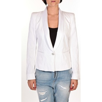 Textiel Dames Jasjes / Blazers Rich & Royal Rich&Royal Blazer 11Q851  Savie Wit