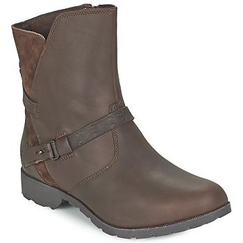 Schoenen Dames Laarzen Teva DELAVINA LOW Bruin
