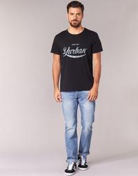 Textiel Heren Straight jeans Yurban IEDABALO Blauw / Clair