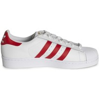 Schoenen Lage sneakers adidas Originals Superstar Foundation Blanc