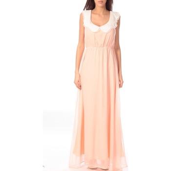 Textiel Dames Lange jurken Aggabarti Robe Claudine 121013 Oranje