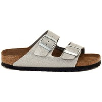Schoenen Heren Leren slippers Birkenstock ARIZONA  GALAXY     96,8