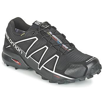 Schoenen Heren Running / trail Salomon SPEEDCROSS 4 GTX® Zwart / Zilver