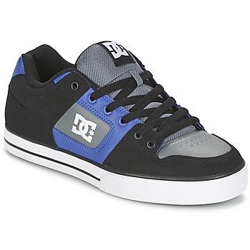 Schoenen Heren Skateschoenen DC Shoes PURE Zwart / Blauw / Grijs