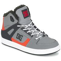Schoenen Kinderen Hoge sneakers DC Shoes REBOUND WNT B SHOE XSKN Grijs / Zwart / OranJe