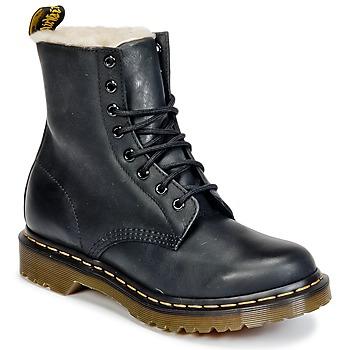Schoenen Dames Laarzen Dr Martens SERENA Zwart