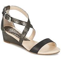 Schoenen Dames Sandalen / Open schoenen Anaki GEKOI Zwart