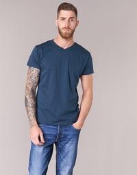 Textiel Heren T-shirts korte mouwen BOTD ECALORA Marine