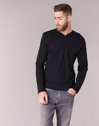 Textiel Heren T-shirts met lange mouwen BOTD ETUNAMA Zwart