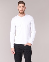 Textiel Heren T-shirts met lange mouwen BOTD ETUNAMA Wit
