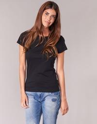 Textiel Dames T-shirts korte mouwen BOTD EQUATILA Zwart