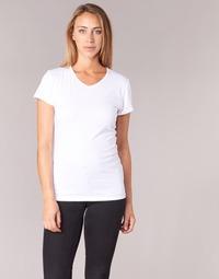 Textiel Dames T-shirts korte mouwen BOTD EFLOMU Wit