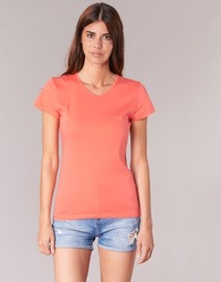 Textiel Dames T-shirts korte mouwen BOTD EFLOMU Oranje