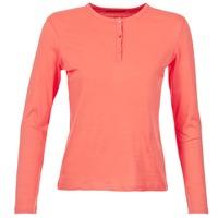 Textiel Dames T-shirts met lange mouwen BOTD EBISCOL Koraal