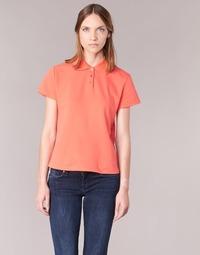 Textiel Dames Polo's korte mouwen BOTD ECLOVERA Oranje