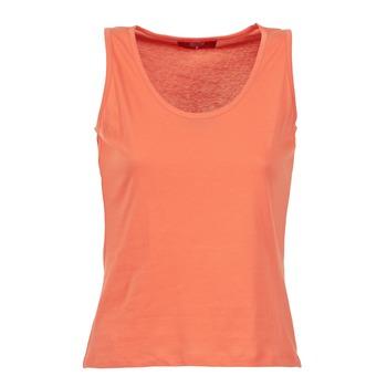 Textiel Dames Mouwloze tops BOTD EDEBALA Oranje