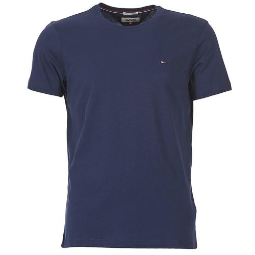 Textiel Heren T-shirts korte mouwen Tommy Jeans OFLEKI Marine