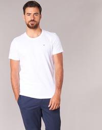 Textiel Heren T-shirts korte mouwen Tommy Jeans OFLEKI Wit