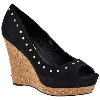 Schoenen Dames pumps F. Milano  Zwart