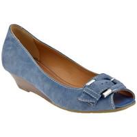 Schoenen Dames pumps Lea Foscati  Blauw