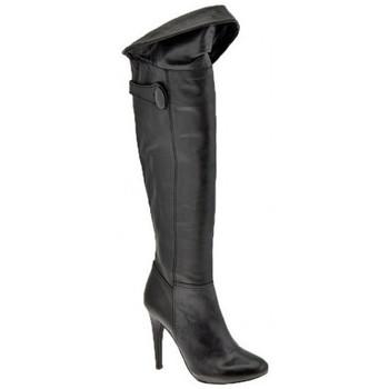 Schoenen Dames Hoge laarzen Ssamzie  Zwart