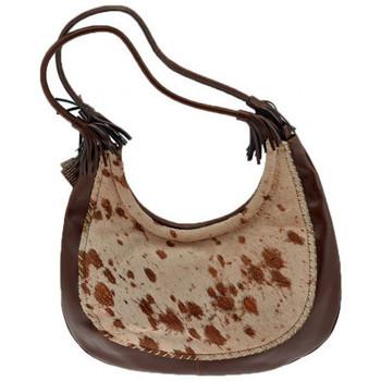 Tassen Dames Handtassen lang hengsel Burglar  Bruin