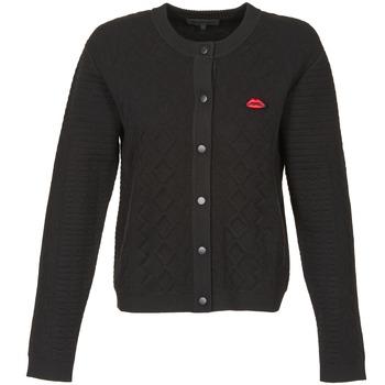 Textiel Dames Vesten / Cardigans American Retro LUIS Zwart