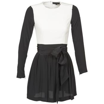 Textiel Dames Korte jurken American Retro STANLEY Zwart / Wit