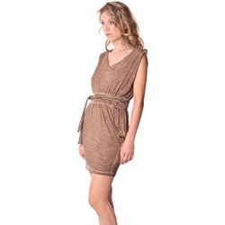 Textiel Dames Korte jurken Rich & Royal Rich&Royal Robe LAST Camel  13q664/238 Bruin