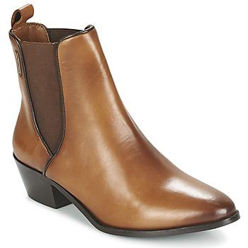 Schoenen Dames Enkellaarzen Pepe jeans DINA Bruin