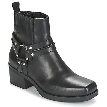 Schoenen Dames Enkellaarzen Vagabond ARIANA Zwart