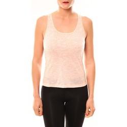 Textiel Dames Mouwloze tops Meisïe Débardeur 50-502SP15 Corail Oranje