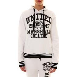 Textiel Dames Sweaters / Sweatshirts Sweet Company Sweat United Marshall 1945 blanc/noir Zwart