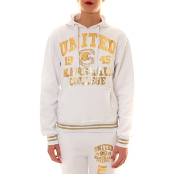 Textiel Dames Sweaters / Sweatshirts Sweet Company Sweat United Marshall 1945 blanc/or Goud