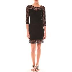 Textiel Dames Korte jurken La Vitrine De La Mode Robe 158 By La Vitrine Noire Zwart