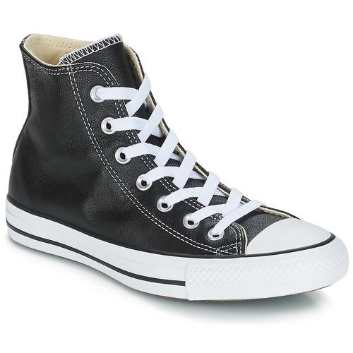 Schoenen Hoge sneakers Converse Chuck Taylor All Star CORE LEATHER HI Zwart