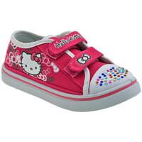 Schoenen Kinderen Lage sneakers Hello Kitty  Roze